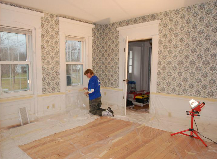Our Wallpaper Removal Process